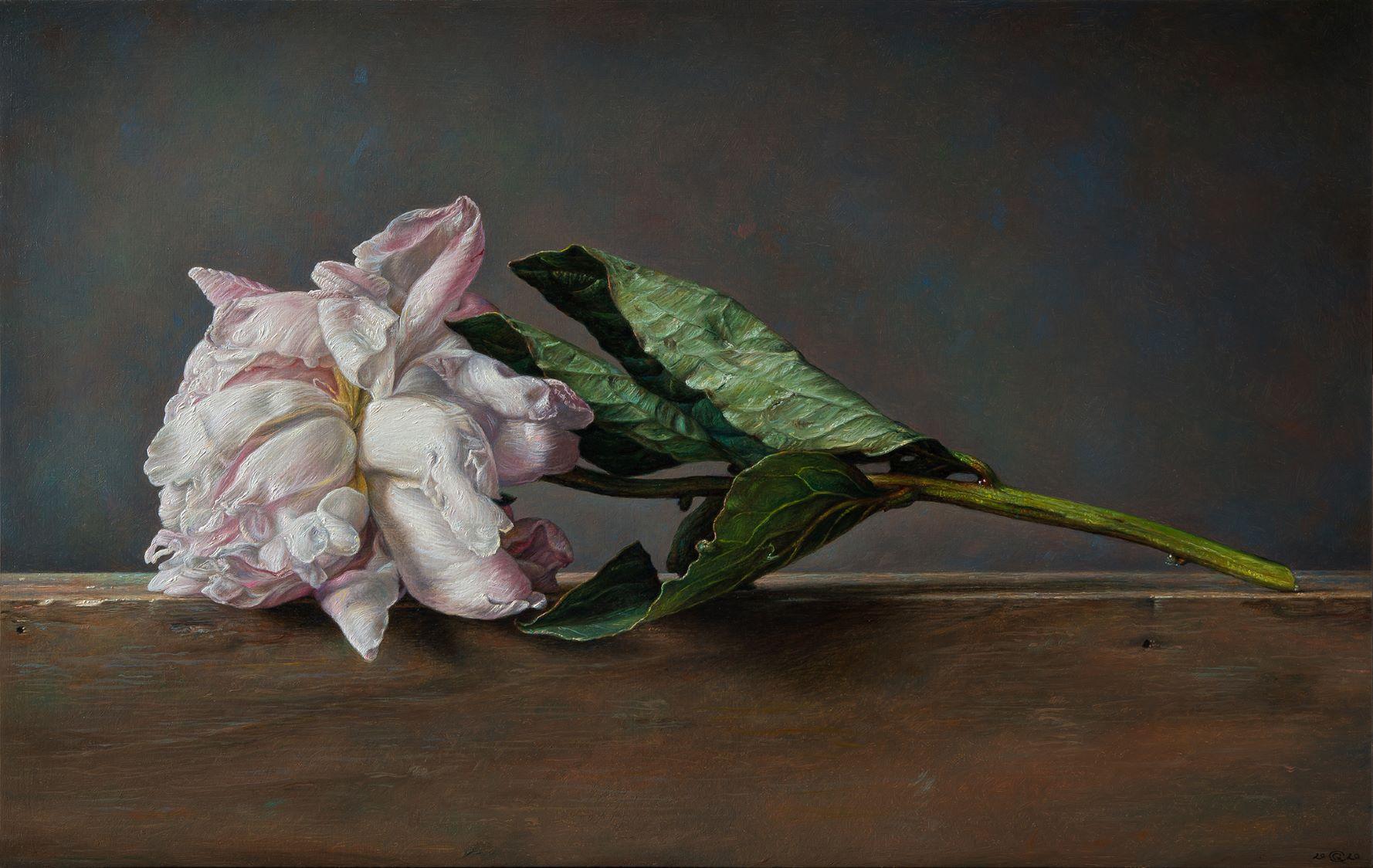 Sleeping Beauty - 2020 olio su tavola cm 32x50,5 © Gianluca Corona
