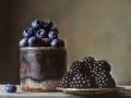 Blue - 2013 olio su tavola cm 25x25 © Gianluca Corona