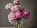 Bouquet - 2017 olio su tavola cm 65x60 © Gianluca Corona