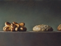 Bread Parade - 2013 olio su tavola incamottata cm 24,5x55 © Gianluca Corona