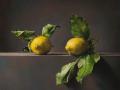 Composizione con Limoni Naturali - 2019 olio su tela cm 60x70 © Gianluca Corona