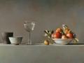 Composizione con mele - 2012 olio su tela cm 55x80 © Gianluca Corona