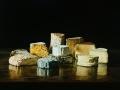 Composizione di formaggi - 2005 olio su tela cm 50x70 © Gianluca Corona