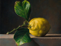 Contemplazione - 2019 olio su tavola cm 30x30 © Gianluca Corona