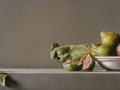 Distanza II - 2012 olio su tavola cm 35x80 © Gianluca Corona