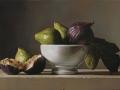 Fichi - 2011 olio su tavola cm 25x35 © Gianluca Corona