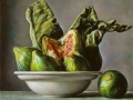 Green - 2013 olio su tavola cm 25x25 © Gianluca Corona