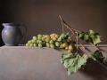 L'Uva di Franco - 2016 olio su tavola incamottata cm 50x80 © Gianluca Corona