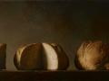 Le Parti - 2011 olio su tela cm 45x90 © Gianluca Corona