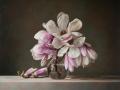 Magnolias - 2019 olio su tela cm 65x75 © Gianluca Corona