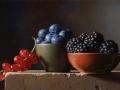 More Mirtilli e Ribes - 2011 olio su tavola cm 20x30 © Gianluca Corona