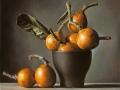 Orange - 2013 olio su tavola cm 25x25 © Gianluca Corona