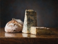 Pane e Formaggio - 2018 olio su tavola cm 35x45 © Gianluca Corona