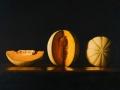 Quarto di un intero - 2008 tecnica mista su tela cm 50X70 © Gianluca Corona