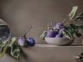 Richiami - 2014 olio su tavola incamottata cm 30x60 © Gianluca Corona
