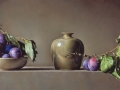 Susine - 2014 olio su tavola cm 55x30 © Gianluca Corona