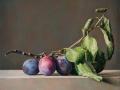 Susine di Ca' Pajoni - 2020 olio su tavola cm 30x30 © Gianluca Corona