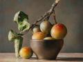 Susine di Montezago, 2020, olio su tavola, cm 30x30 © Gianluca Corona