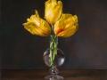 Tulipani Olandesi - 2018 olio su tavola cm 50x50 © Gianluca Corona