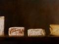 Varietà - 2011 olio su tela cm 45x90 © Gianluca Corona