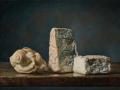 Volumi - 2020 olio su tavola cm 37x52 © Gianluca Corona