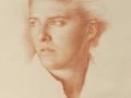 Ritratto - 1998 sanguigna © Gianluca Corona