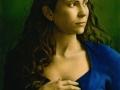 Ritratto - 1997 olio tavola cm 30x40 © Gianluca Corona