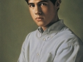Ritratto - 2001 olio tavola cm 35x50 © Gianluca Corona