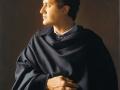 Ritratto - 2000 olio tavola cm 50x60 © Gianluca Corona