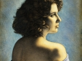 Monassita Greci - 1995 tempera verniciata © Gianluca Corona